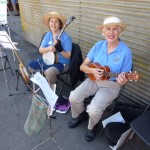 Linda and Diane at Try A Banjo.