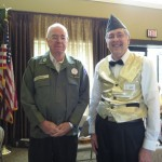 Two of our own veterans, Terry and Phil.
