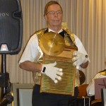 Don plays the washboard.