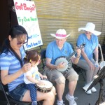 "Ardie and Sheila at ""Try A Banjo""."